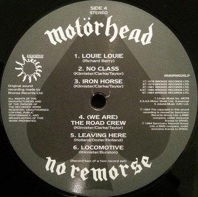 Motörhead No Remorse
