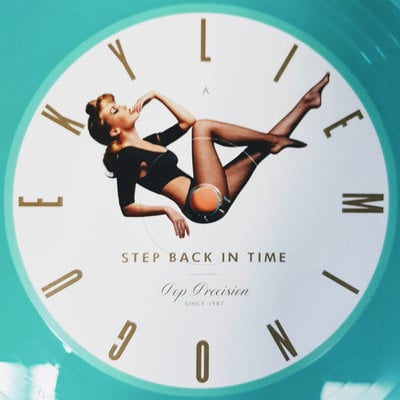 Kylie Minogue Step Back In Time: The Definitive Collection (Coloured Vinyl - Mint Green)