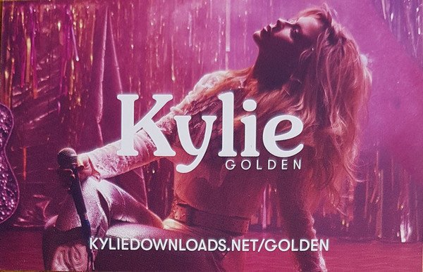 Kylie Minogue Golden (Clear Vinyl)