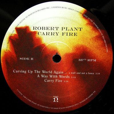 Robert Plant Carry Fire