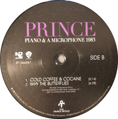 Prince Piano & A Microphone 1983