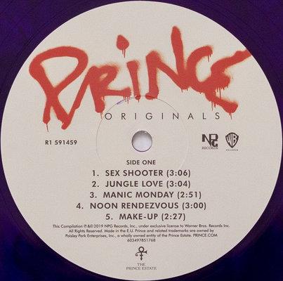 Prince Originals (Purple Vinyl Album with CD)