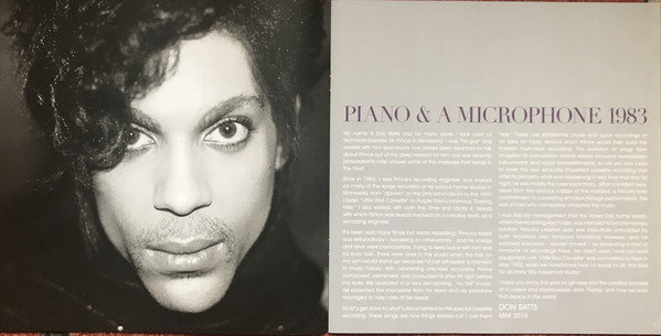 Prince Piano & A Microphone 1983 (Cd+Lp)