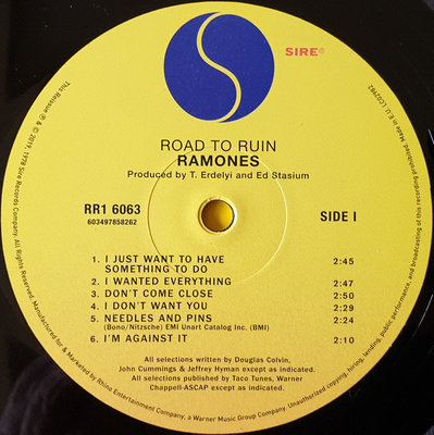 Ramones Road To Ruin (Remastered)