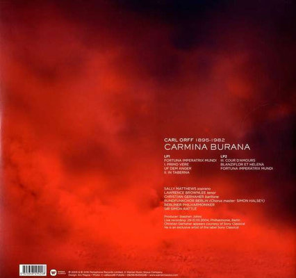 Sir Simon Rattle Orff: Carmina Burana (Lp)