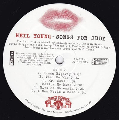 Neil Young Songs For Judy