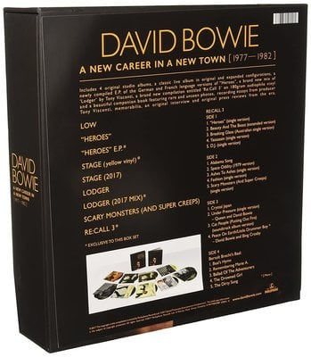 David Bowie A New Career In A New Town (1977 - 1982) (13 LP)