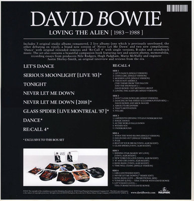 David Bowie Loving The Alien (1983 - 1988) (15 LP Box Set)