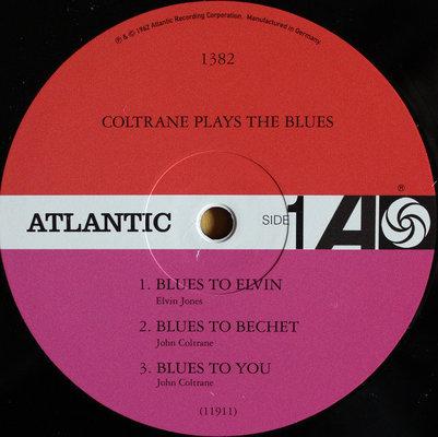 John Coltrane Coltrane Plays The Blues (Mono Remaster)