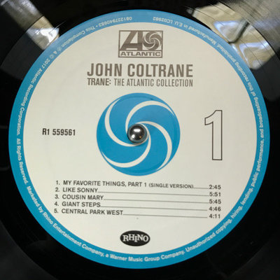 John Coltrane Trane: The Atlantic Collection