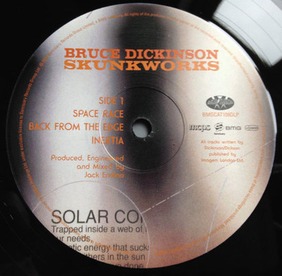 Bruce Dickinson Skunkworks