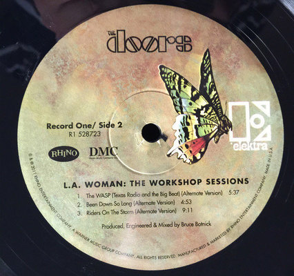 The Doors L.A.Woman-The Workshop Session