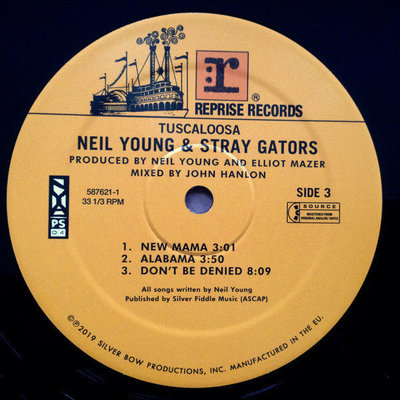 Neil Young & The Stray Gators Tuscaloosa (Live)