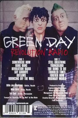 Green Day Revolution Radio (Picture Disc)