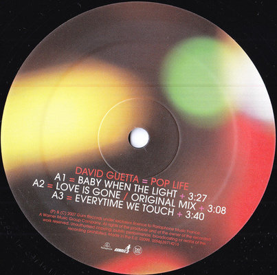 David Guetta Pop Life (Vinyl LP)
