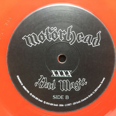 Motörhead RSD - Bad Magic (Red Coloured Vinyl)