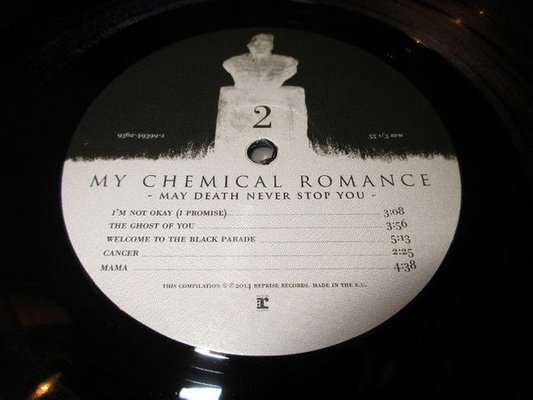 My Chemical Romance May Death Never Stop You (2 LP + DVD)