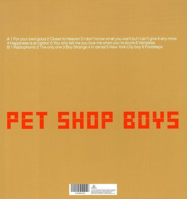 Pet Shop Boys Nightlife