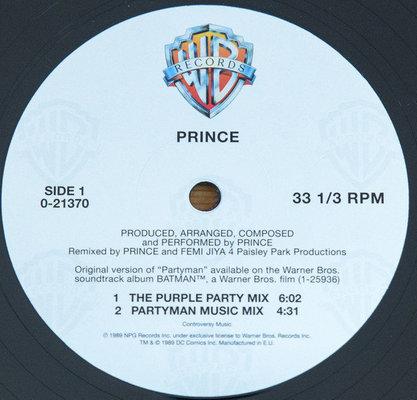 Prince RSD - Partyman