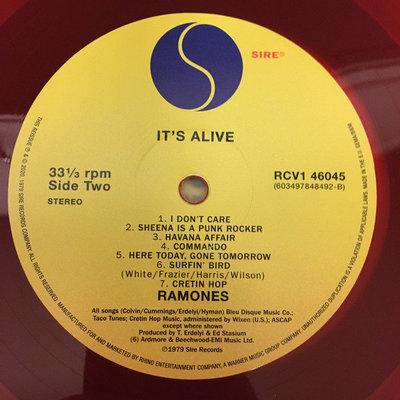 Ramones It's Alive