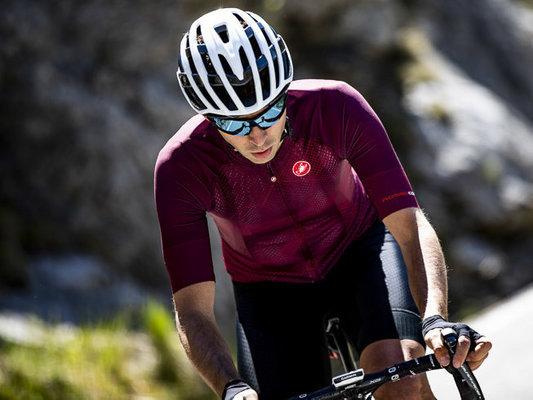 Castelli Climber's 3.0 Mens Jersey Sangria L