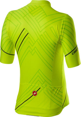 Castelli Passo Mens Jersey Yellow Fluo XL