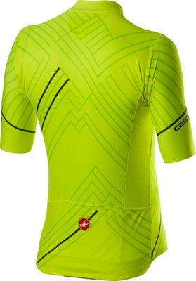 Castelli Passo maillots cyclisme homme Yellow Fluo 2XL