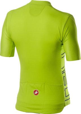 Castelli Entrata V Mens Jersey Chartreuse XL