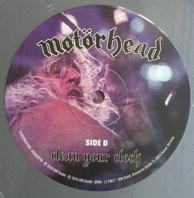 Motörhead Clean Your Clock