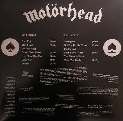 Motörhead Everything Louder Than Everyone Else (3 LP)