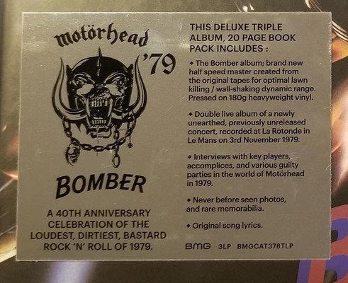 Motörhead Bomber (3 LP)