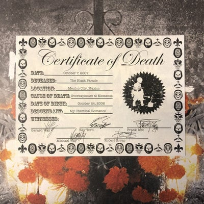 My Chemical Romance Rsd - The Black Parade Is Dead!