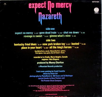 Nazareth Expect No Mercy