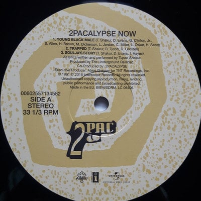 2Pac 2Pacalypse Now (2 LP)