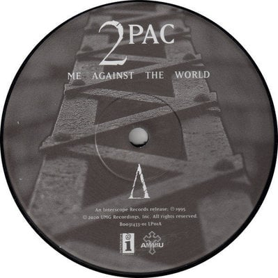 2Pac Me Against The World (2 LP)