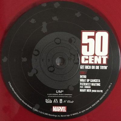 50 Cent Get Rich Or Die Tryin' (2 LP)