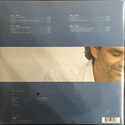 Andrea Bocelli Andrea (Remastered) (2 LP)