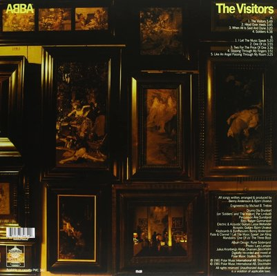 Abba The Visitors (LP) 180 g