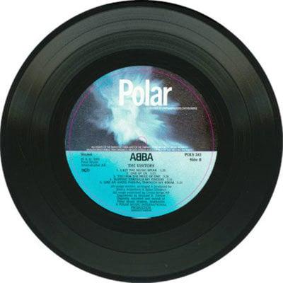 Abba The Visitors (Vinyl LP)