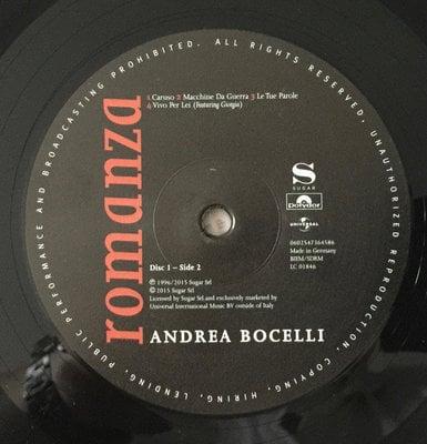 Andrea Bocelli Romanza Remastered (2 LP)
