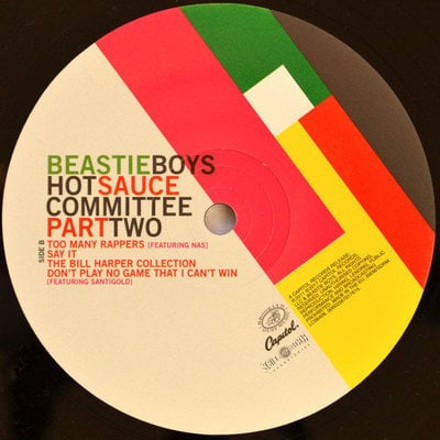 Beastie Boys Hot Sauce Committee, Pt. 2 (2 LP)