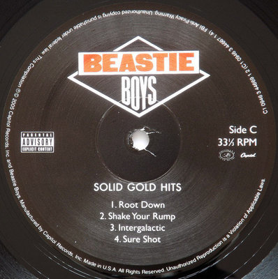 Beastie Boys Solid Gold Hits (2 LP)