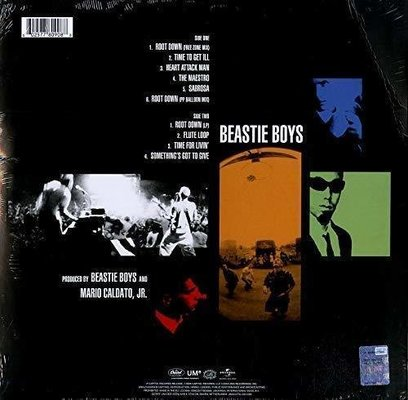 Beastie Boys Root Down (Vinyl LP)