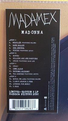 Madonna Madame X (2 LP Rainbow Picture Disc)