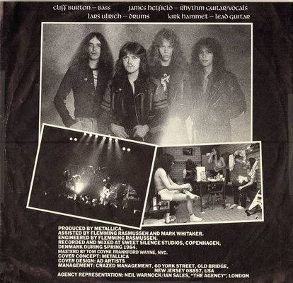Metallica Ride The Lightning (Vinyl LP)