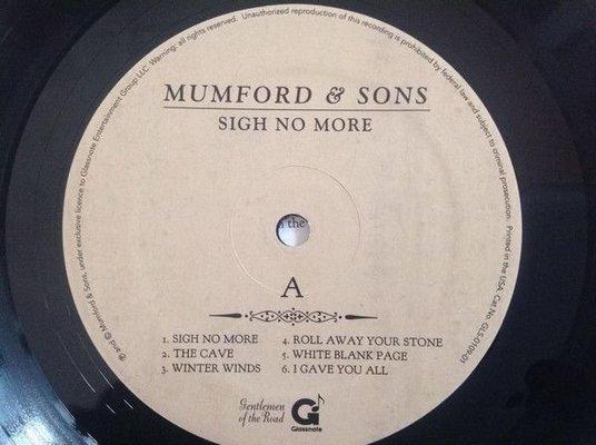 Mumford & Sons Sigh No More (Vinyl LP)