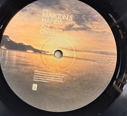 Maroon 5 Hands All Over (Vinyl LP)