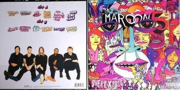 Maroon 5 Overexposed (Vinyl LP)