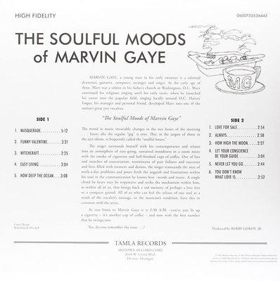 Marvin Gaye The Soulful Moods Of Marvin Gaye (Vinyl LP)