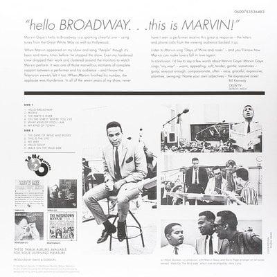 Marvin Gaye Hello Broadway (Vinyl LP)